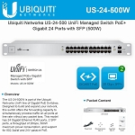 Ubiquiti Networks US-24-500W UniFi 24-Ports Switch