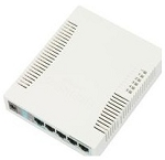 MikroTik 260GS Media Converter with Fiber Cover