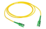 SC TO SC  Duplex Single Mode PVC  Fiber Optic Patch Cable 10 PACK