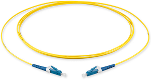 LC/UPC to LC/UPC Single mode Simplex Fiber Optical Patch Cords - 5 Metres