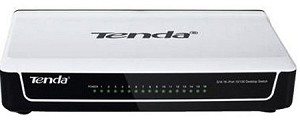 Tenda 10/100 Mbps 16 Ports Ethernet Switch(TE-S16)